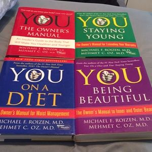 YOU books by Dr. Oz and Dr. Roizen